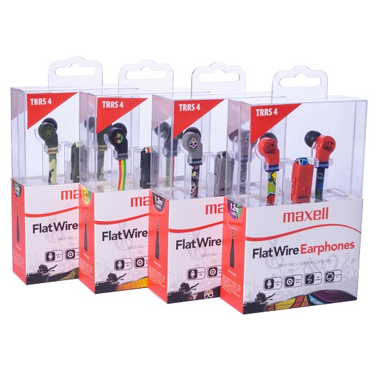 Maxell Flat Wire_