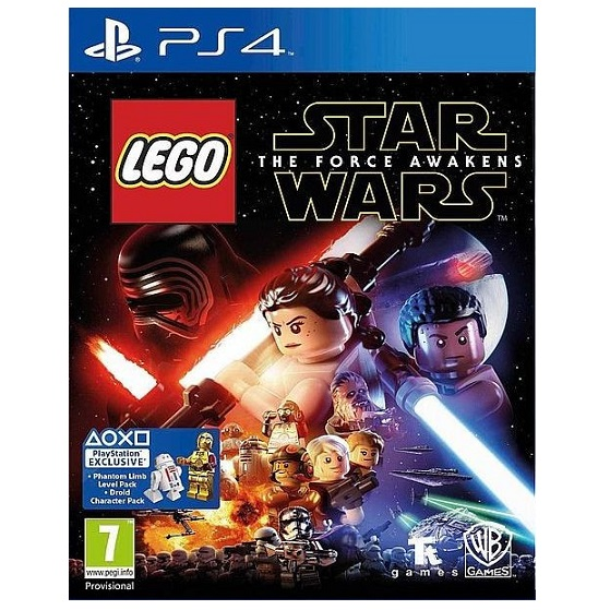 PS4 game LEGO STAR WARS - The Force Awaknes