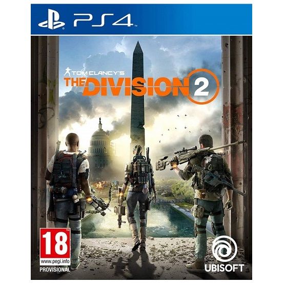 PS4 game TOM CLANCY´S - The Division 2