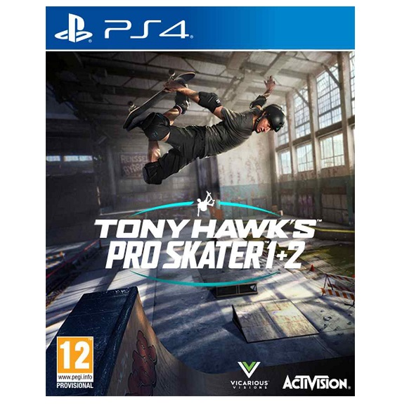 PS4 game TONY HAWK´S Pro Skater 1 and 2