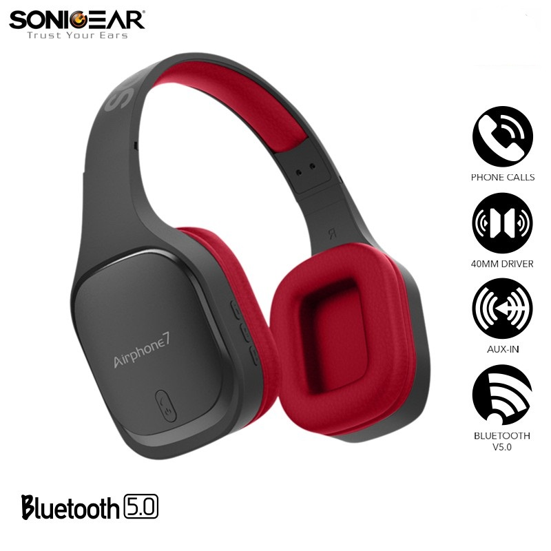 SONICGEAR AIRPHONE 7 crne