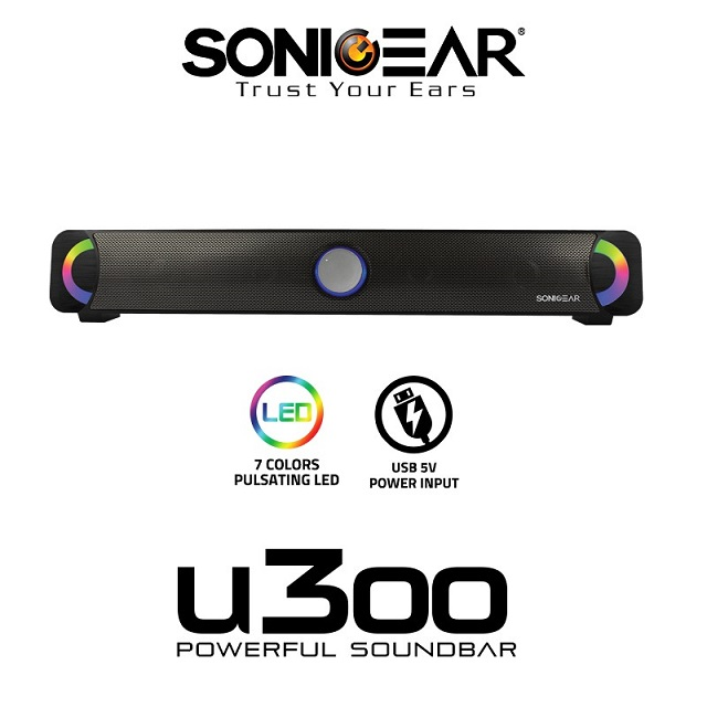 SONICGEAR Sound Bar U300