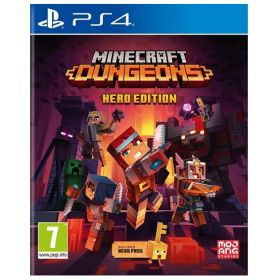 MINECRAFT:Dungeons - Hero Edition PS4 game