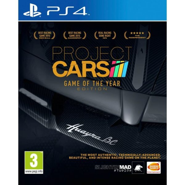 PROJECT CARS: GAME OF THE YEAR EDITION -PS4 game