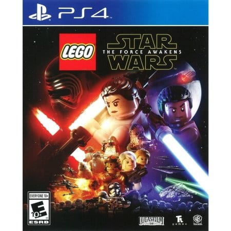 LEGO: STAR WARS THE FORCE AWAKENS -PS4 game