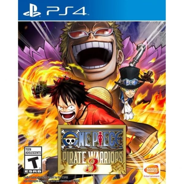 ONE PIECE: PIRATE WARRIORS 3 -PS4 game