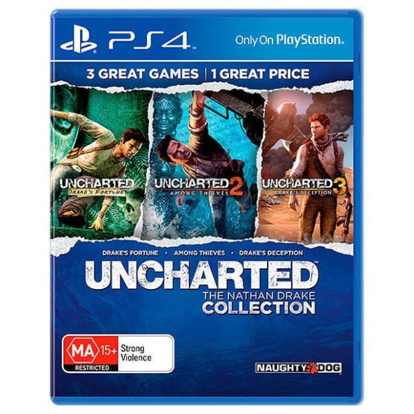 UNCHARTED: THE NATHAN DRAKE COLLECTION -PS4 game