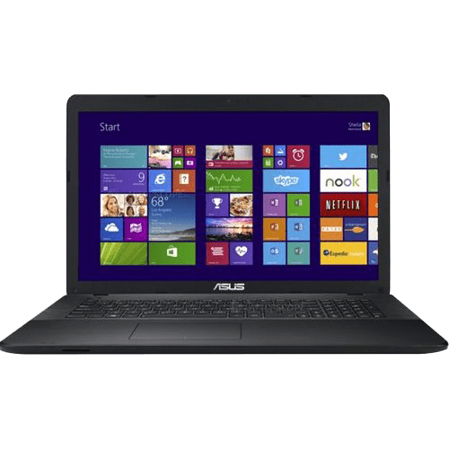ASUS Notebook X751SJ 17.3″/Intel 2.4GHz/4GB RAM/500GB HDD/1GB Video