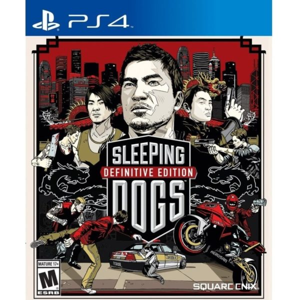 SLEEPING DOGS: DEFINITIVE EDITION -PS4 game