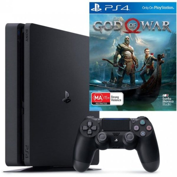 PS4 1TB + God of War