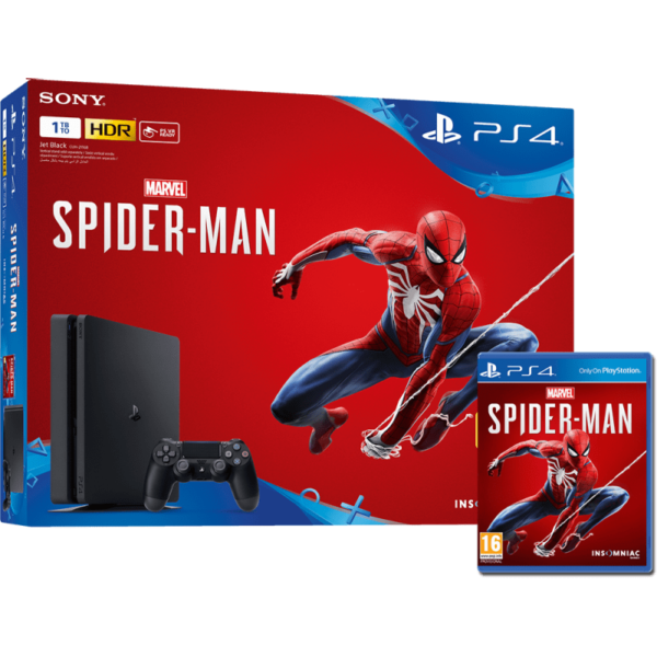 PS4 1TB + Spiderman Igrica