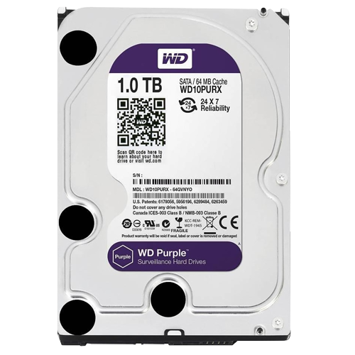 WD 1TB Purple Surveillance
